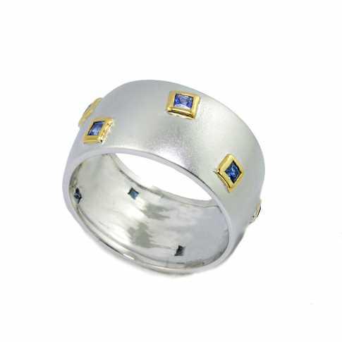 GERMAN KABIRSKI Sapphires Ring