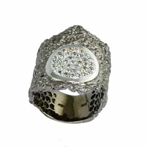 German Kabirski Topazes Silver Ring