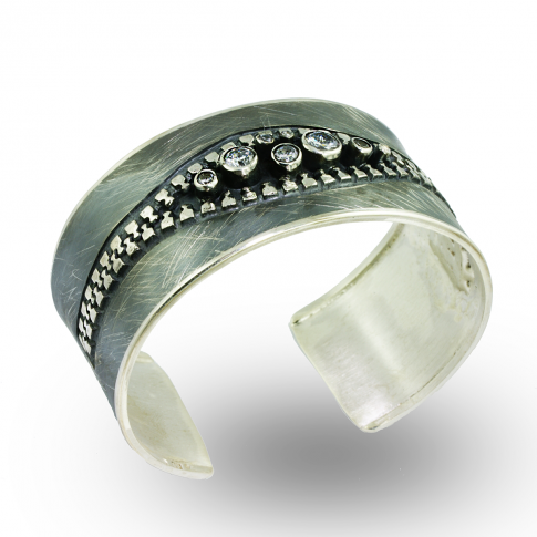 ZIP Silver Bracelet