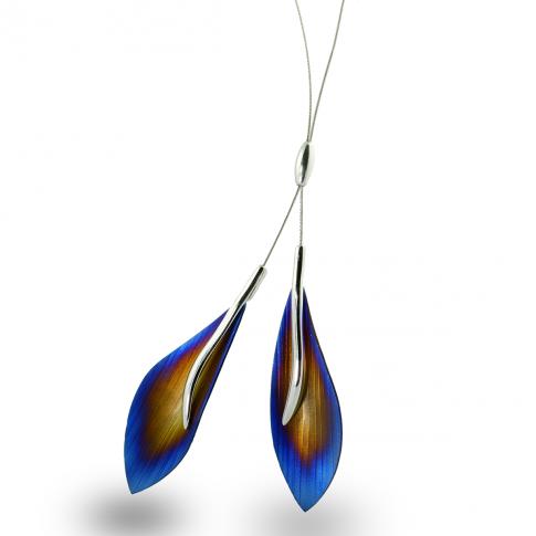 Titanium & Silver Necklace
