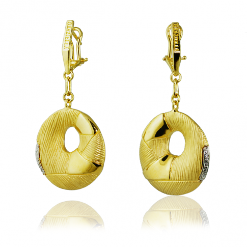 GRAZIELLA Gold Earrings