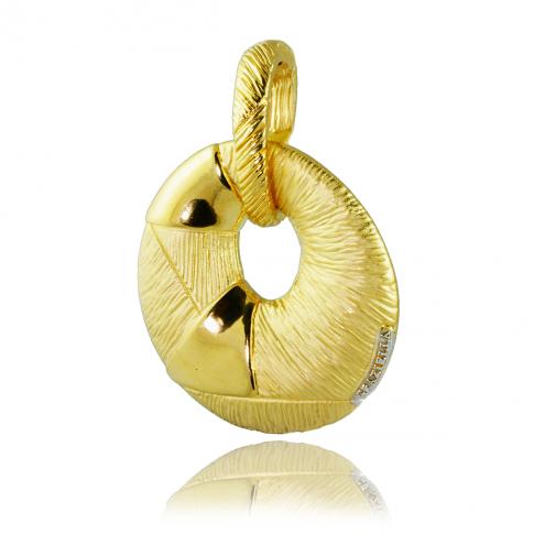GRAZIELLA Gold Pendant