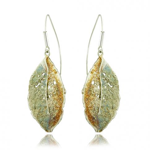 Dorian Grabowski Leaf Earrings