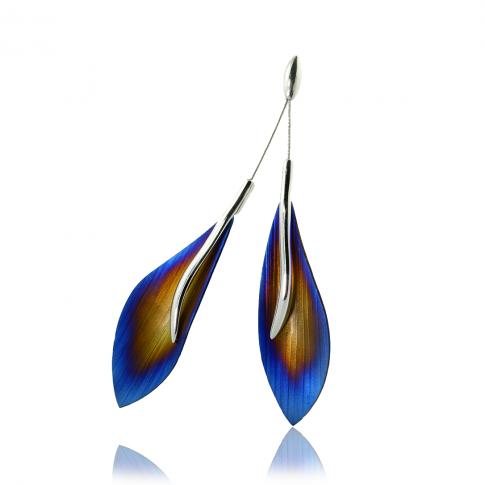 Silver & Titanium Pendant