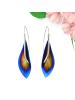Silver & Titanium Earrings