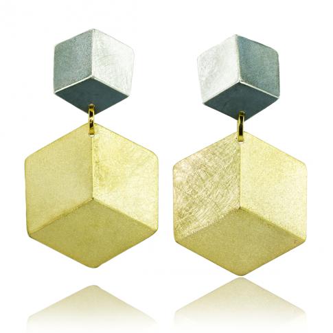 WYGANOWSKI Silver 3D Earrings