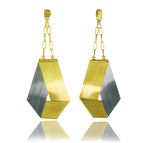 WYGANOWSKI Geometric Silver Earrings