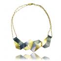 WYGANOWSKI Geometric Silver Necklace