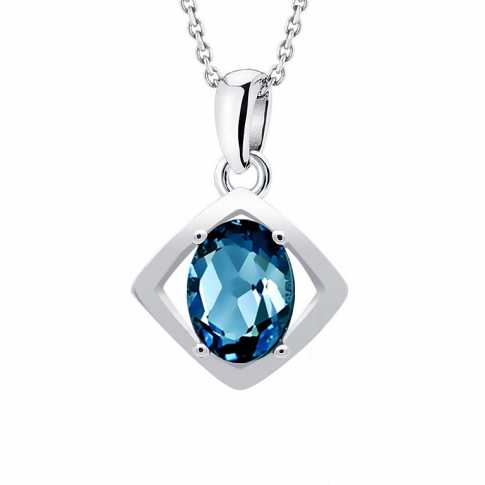 London Topaz Pendant