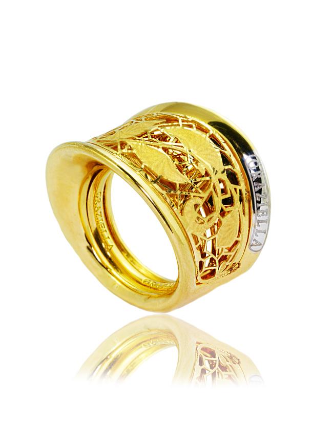 GRAZIELLA Złoty Pierścionek