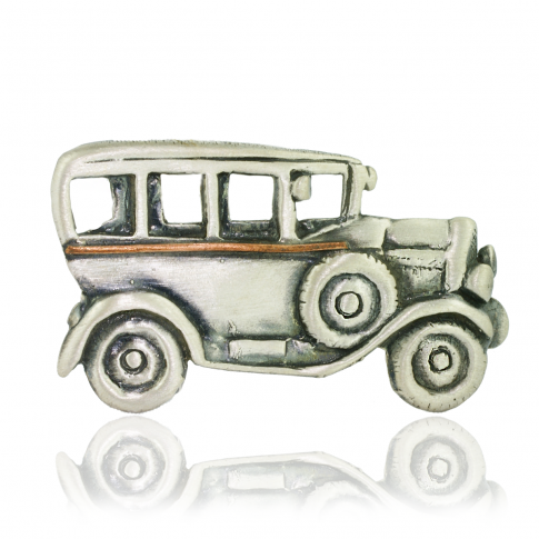Dorian Grabowski Silver Car Brooch