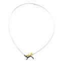Squirrel Silver Necklace