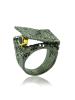Duży pierścionek z szafirem German Kabirski
