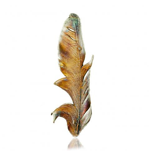 Dorian Grabowski Feather Brooch