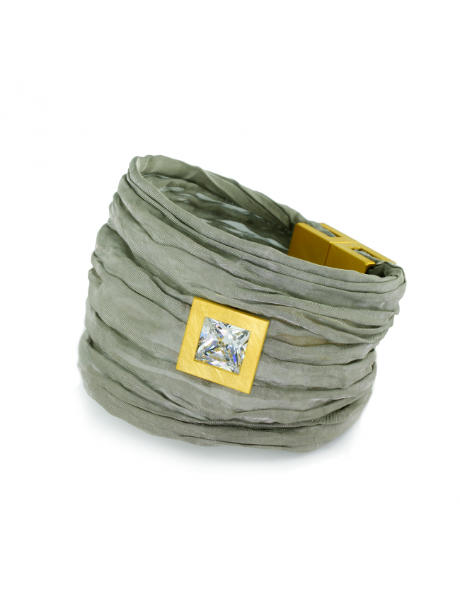 Paweł Kaczyński Steel&Silver Bracelet
