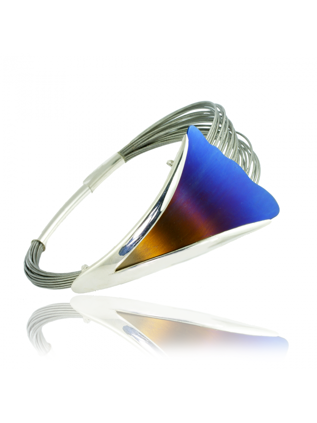 Silver & Titanium Bracelet