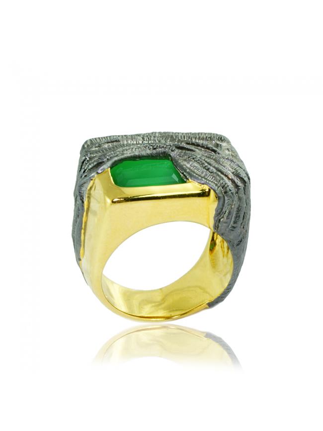 German Kabirski Silver Ring
