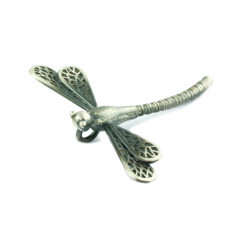 Silver Dragonfly Brooch&Pendant