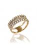 LINE ARGENT Silver Quartz Ring