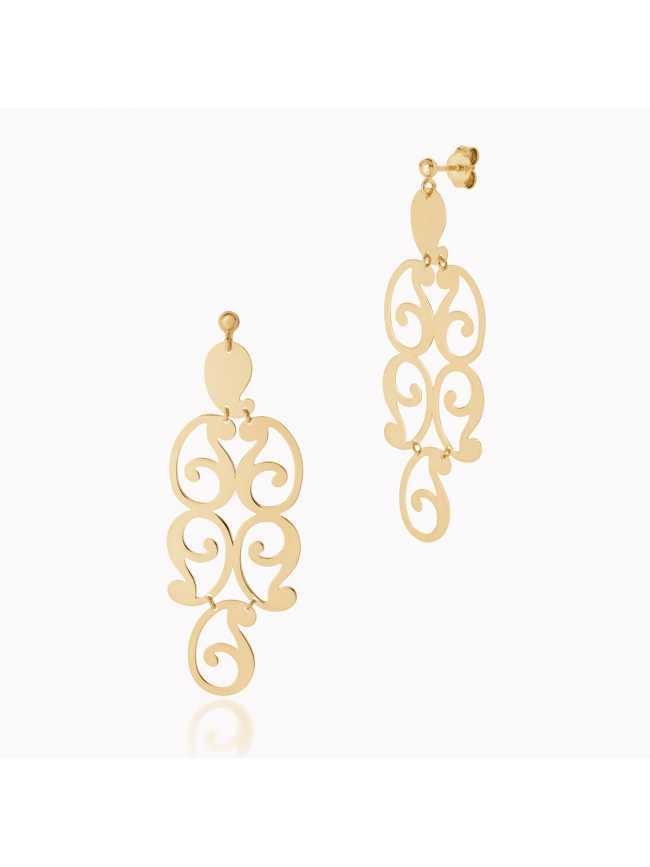 Dall'Acqua Gold Earrings