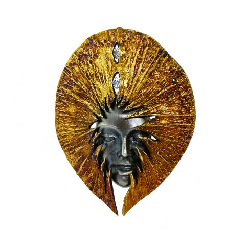 HANA - Silver Pendant
