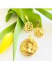 GRAZIELLA Butterfly Gold 14K Earrings