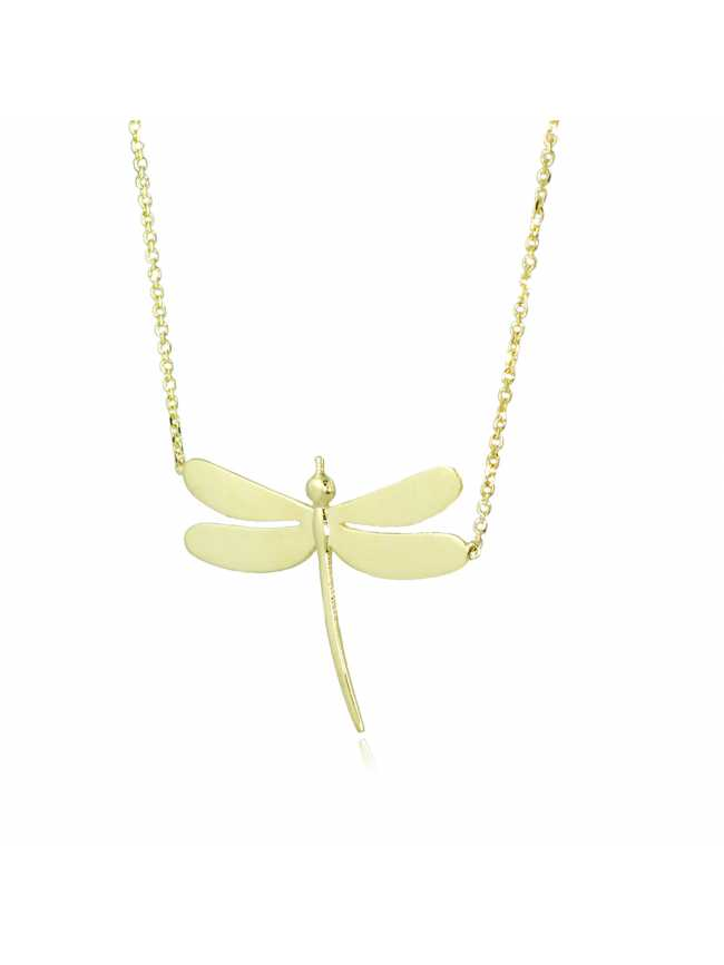 DRAGONFLY Gold 585 Necklace