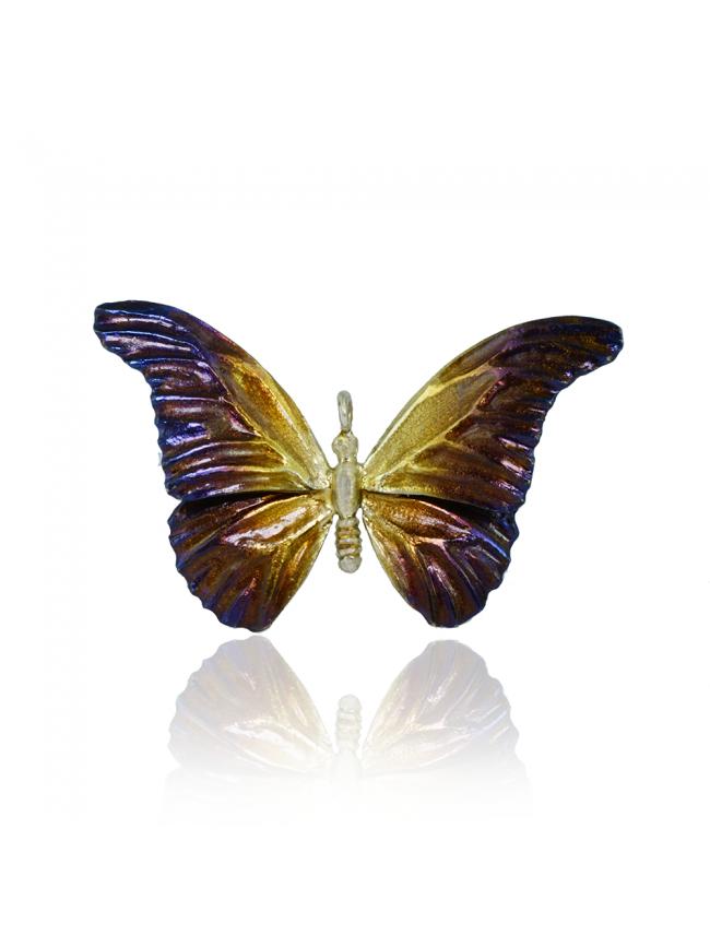 Butterfly Silver Pendant