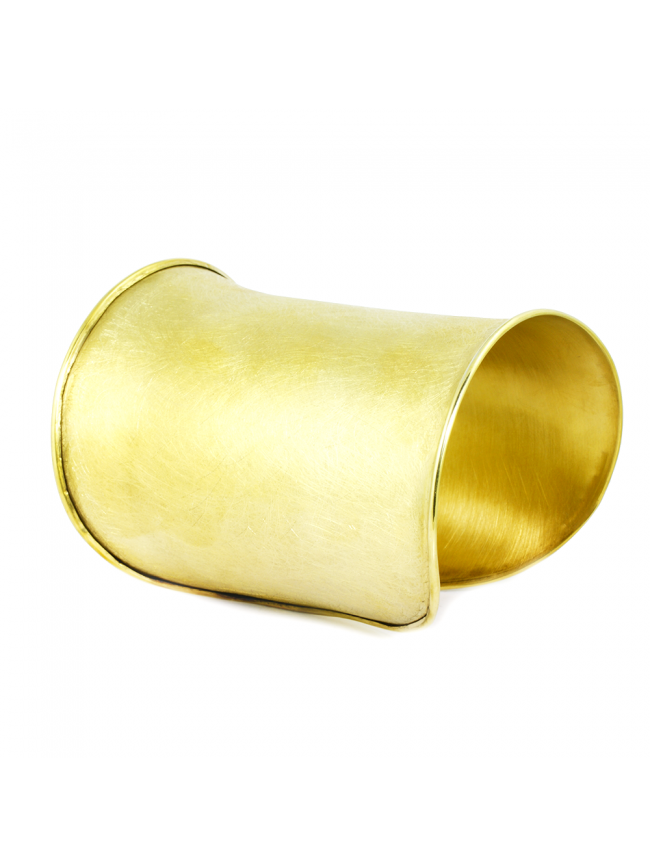 WYGANOWSKA Duża Złota Bransoletka