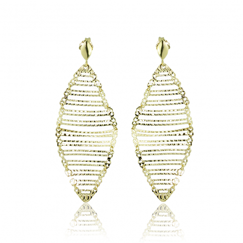 Airy Gold Earrings