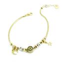 Charms Gold Bracelet