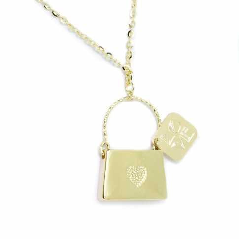 LOVE MESSAGE Gold (14K) Necklace