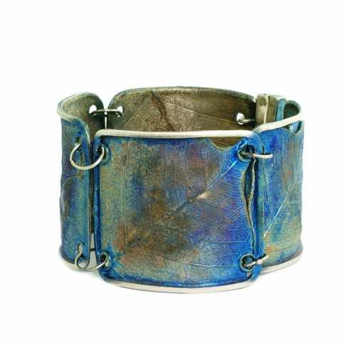 Blue Leaf Bracelet Dorian Grabowski