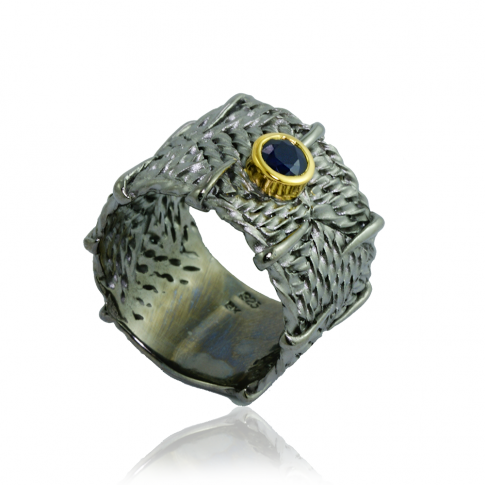 GERMAN KABIRSKI Sapphires Ring