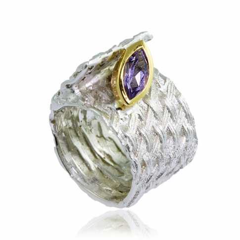 German Kabirski Amethyst Ring