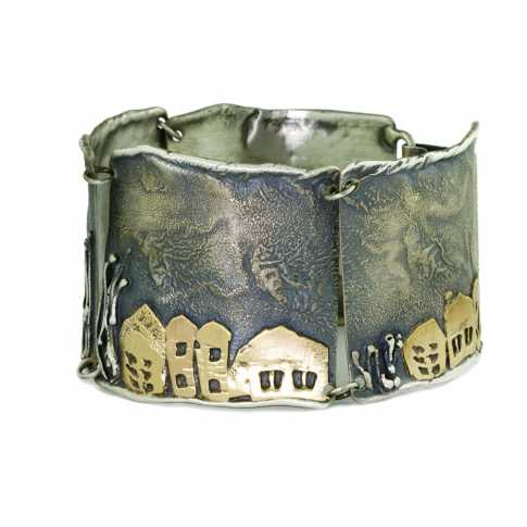 Houses at Night Bracelet