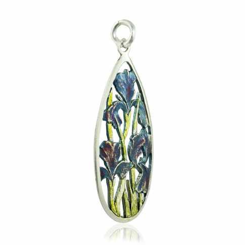 Flowers Silver Earrings