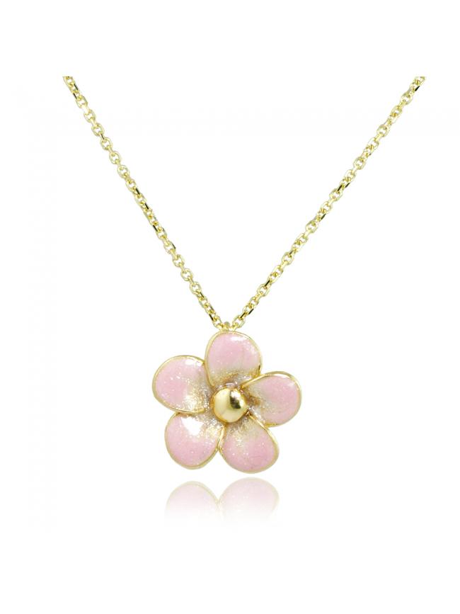 Kwiat Jabłoni - Złoty Naszyjnik