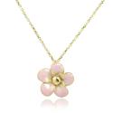 Apple Blossom Golden 585 Necklace
