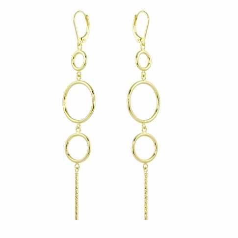CIRCLES Golden Earrings