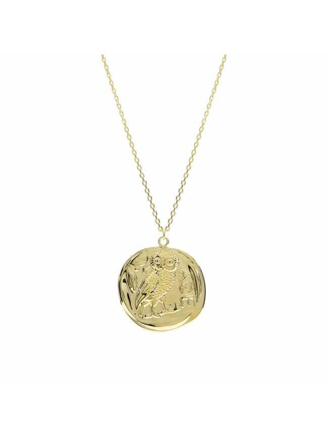 Medalion z sową LINEARGENT