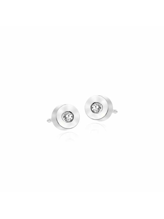 White Gold Diamonds Oktagon Earrings