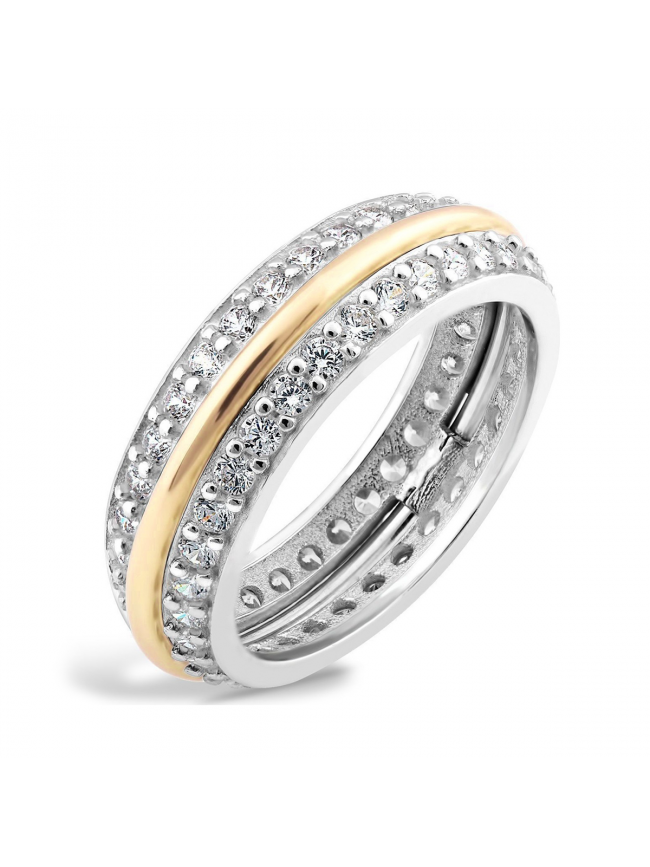 Silver and Gold 375 RING