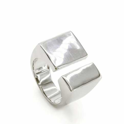 LINEARGENT Silver Ring