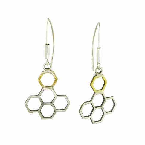 Dorian Grabowski Honeycomb Earrings 2