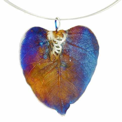 Dorian Grabowski Heart Shape Leaf Necklace