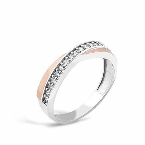 Silver Zircon Ring