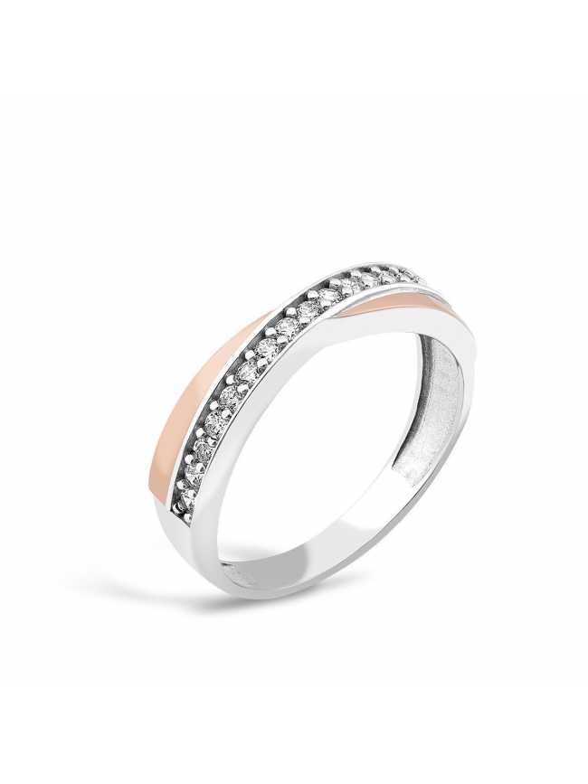 Klasyczny srebrny pierścionek