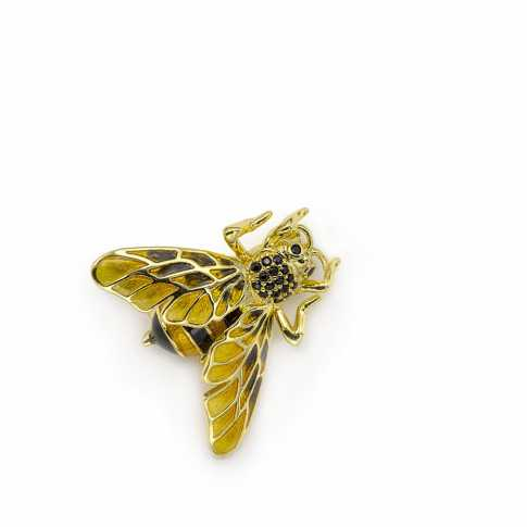 BEE Brooch LINEARGENT