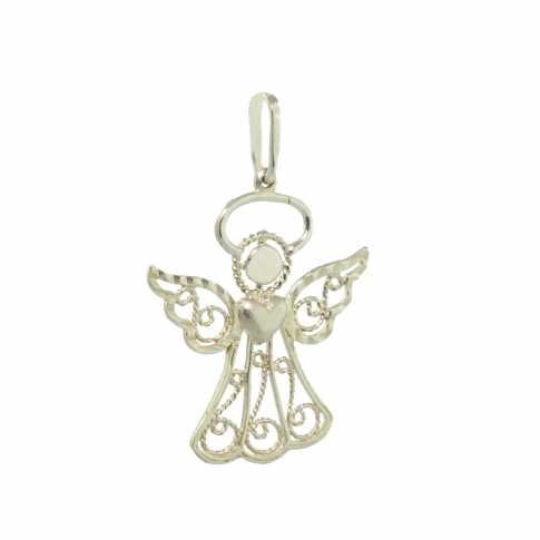 Guardian Angel-gold pendant